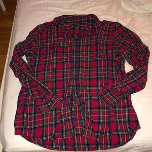 Men's , XLT/XGA Faded Glory Red Flannel